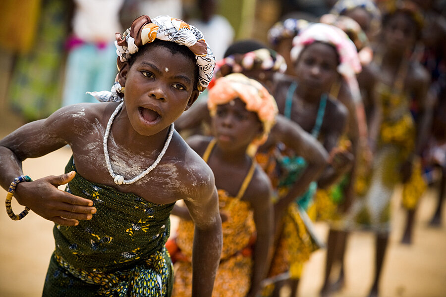 yale musicians study west africas drumbeats a village at