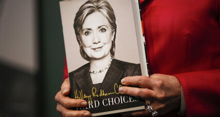 Hillary Clinton's book 'Hard Choices' arrives and Clinton hits the road
