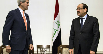 Kerry seeks 'inclusive' leadership from Iraqi PM as ISIS insurgency spreads