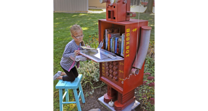 Lending library created by a 9-year-old is shut down by his city