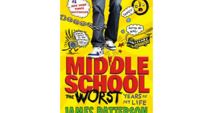 James Patterson donates 'Middle School' books to New York City sixth-graders