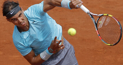 Rafael Nadal reaches fifth straight French Open quarterfinals
