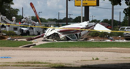 McDonald's plane crash: A test flight goes bad in Louisiana
