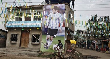 To win Argentine love, Messi first needs to help win World Cup