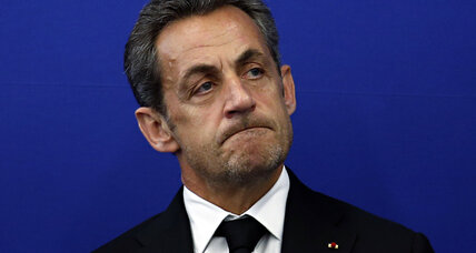 President Bling-Bling in the clink? French police detain Sarkozy.