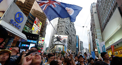 Hong Kong democracy march draws thousands, but can it create change? (+video)