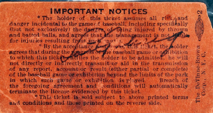 Lou Gehrig ticket stub could fetch $100k at auction