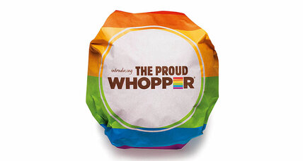 Burger King debuts 'Proud Whopper' to support LGBT rights