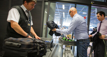 US-bound airport security tightens amid worry about one bombmaker