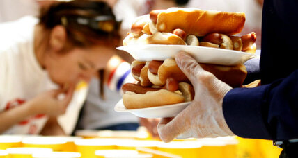 Funky Fourth of July traditions: Hot dog gorging, marshmallow fighting, and more