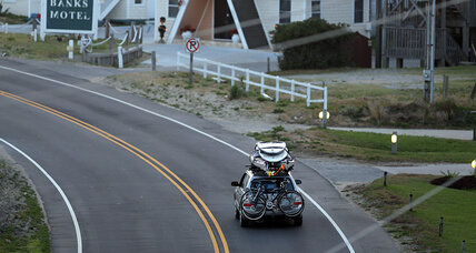 N.C. coast under hurricane warning from Arthur, Outer Banks evacuating (+video)