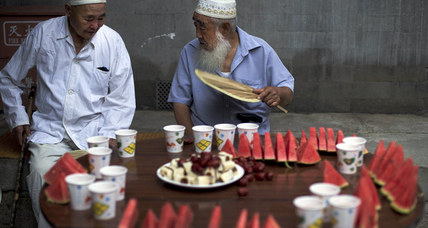 China bans Ramadan fast in security crackdown