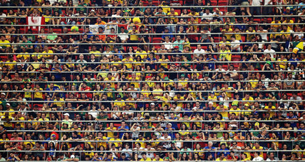 Is watching Brazil World Cup soccer in person reserved for the rich?