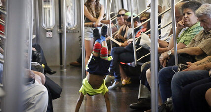 NYC subway performers told to sit down