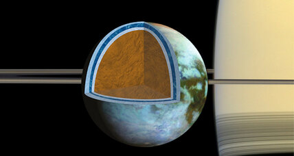Ocean on Saturn's moon could be as salty as Dead Sea, say scientists (+video)