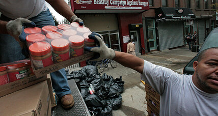 Fighting against hunger, a New York food hub helps food banks across the state