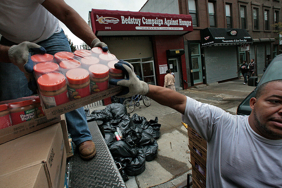 Fighting Against Hunger A New York Food Hub Helps Food