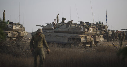 Netanyahu weighs options as Gaza militants fire rockets deeper into Israel