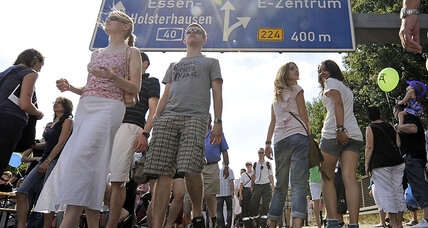 Germany plans to charge foreigners to drive on Autobahn freeways