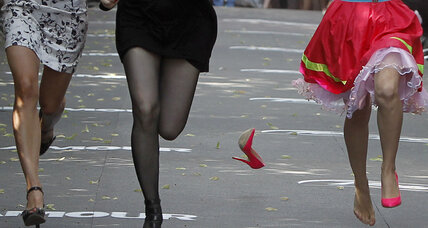 Russia takes aim at dissent, media criticism ... and high heels?