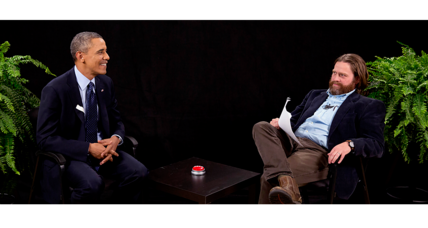 Obama 'Between Two Ferns' show up for an Emmy. Deserved? (+video)