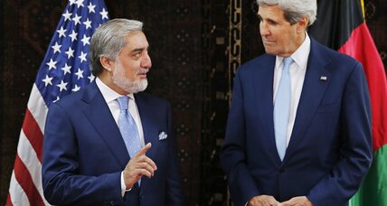Kerry in Afghanistan trying to avert a presidential crisis, but will Abdullah budge?