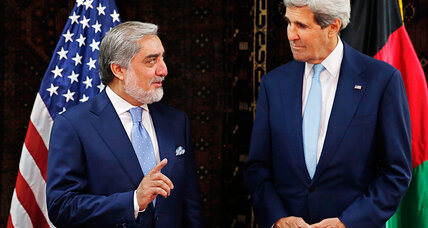 Kerry seeks end to Afghan election impasse as rival candidates claim victory