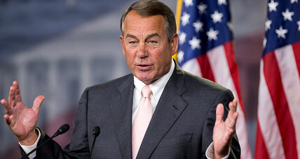 Boehner's proposed anti-Obama suit: Why a narrow focus on one Obamacare part?