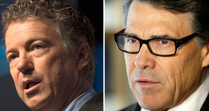 Rand Paul vs. Rick Perry: Who's winning? (+video)