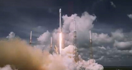 In key test, SpaceX rocket launches six satellites (+video)