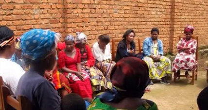 Congo women stitch together a community of beauty and strength