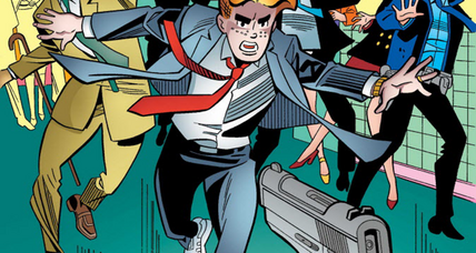 Archie Andrews dies protecting gay senator from assassin's bullet in new comic book