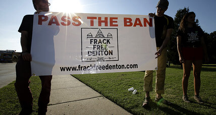 Texas town rejects partial fracking ban