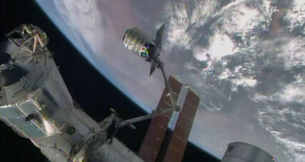 SS Janice Voss docks with International Space Station