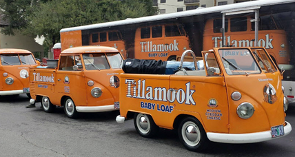 Tillamook vans found: 2 seized for taking custom cheese vans