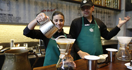 Starbucks (SBUX) opens first store in Colombia. Watch out, Juan Valdez.