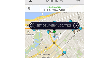 Uber is delivering ice cream today. How to get it.