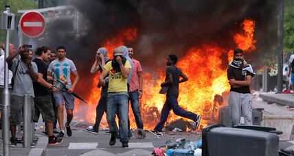 Government condemns violence at French anti-Israeli protests