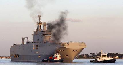 Bucking EU pressure, France commits to Russian warship delivery