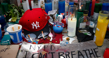 More suspensions after chokehold death, complaints grow about NYPD tactics