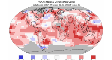 Earth's hottest June follows hottest May. The new normal?