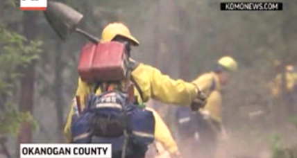 Obama declares Washington wildfire emergency, firefighters make progress (+video)