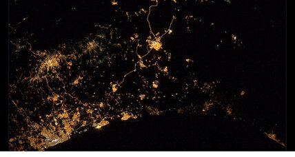 Astronaut snaps 'saddest photo yet'