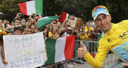 Sicilian 'flag-bearer of anti-doping' wins Tour de France