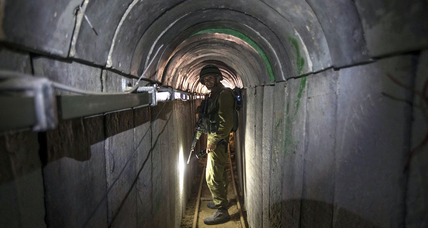 Hamas attacks by tunnel rattle Israelis on Gaza border