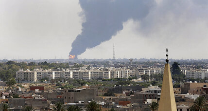 Libya oil depot fire: Officials call for international help