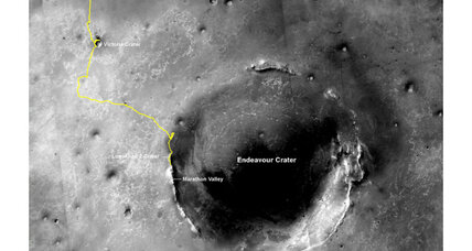 Rover distance record: Mars rover Opportunity breaks space exploration record (+video)
