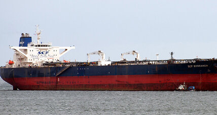 Kurdish oil tanker off Texas coast ... huh?