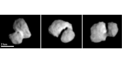Bizarre comet has a 'neck,' reveals Euro-probe