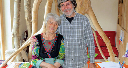 Gerard and Beatrice Barras reopened a wool mill and helped save a town